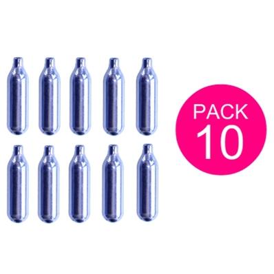 Pack 10 cartouches gaz siphon