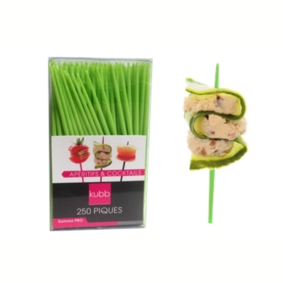 250 piques apéritifs et cocktails (vert)
