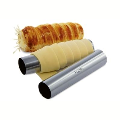 Coffret 6 tubes inox pour roulés au fromage