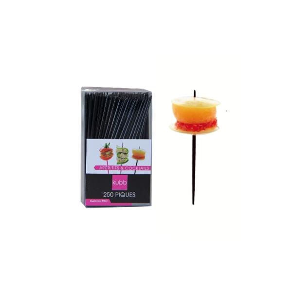 250 piques apéritifs et cocktails (noir)