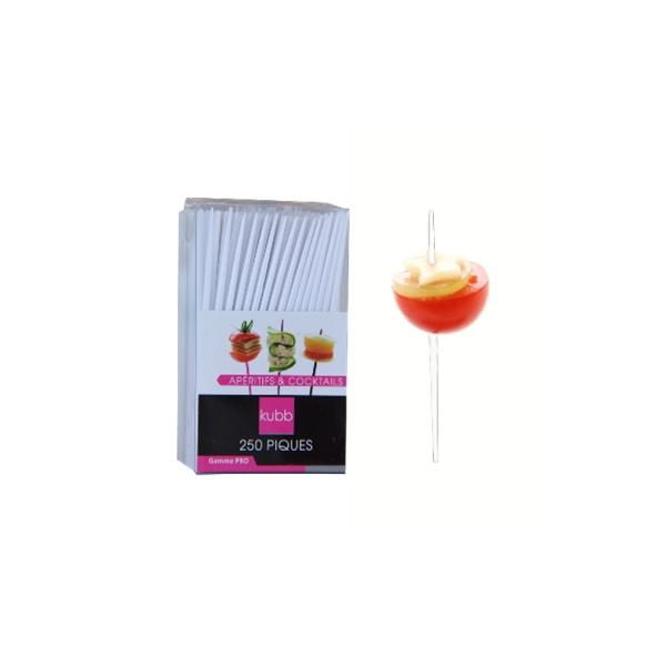 250 piques apéritifs et cocktails  (blanc)